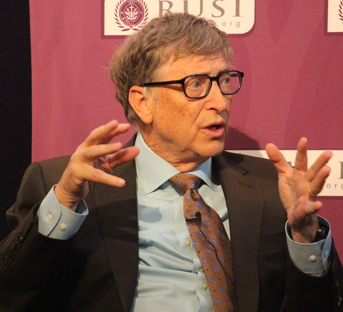 Bill Gates at RUSI